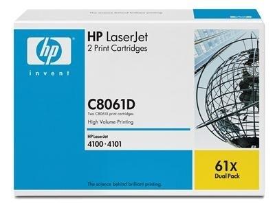 HP Toner-Druckkassette schwarz Doppelpack für LJ 4