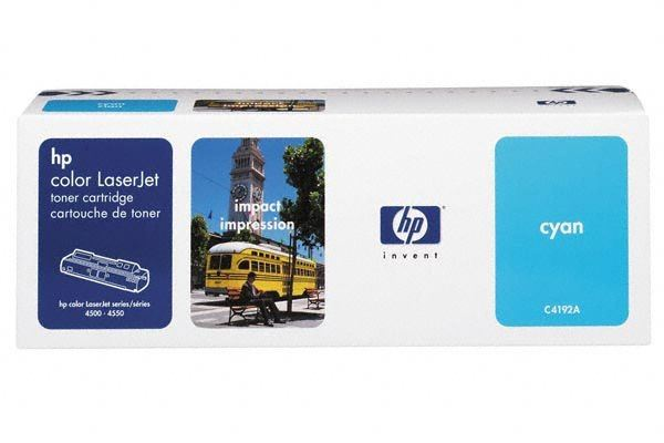 HP Toner für Color LJ4500 cyan - C4192A -