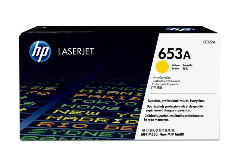 HP Toner gelb -  CF322A