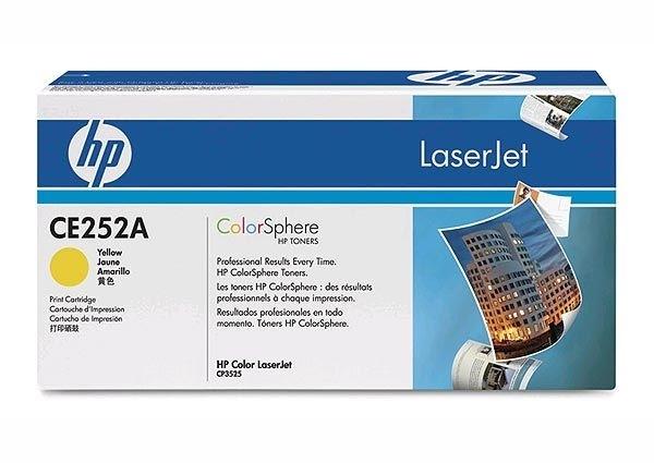 HP Toner gelb, CM3530/CP3525