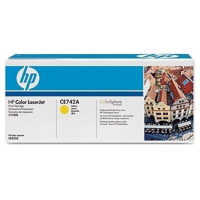 HP Toner gelb für CP5225, CE742A