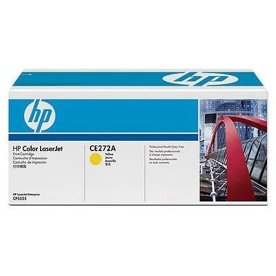 HP Toner gelb für CP5525, CE272A