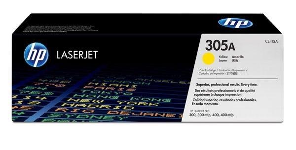 HP Toner gelb für LJ Pro 300/400 Serie