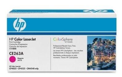 HP Toner magenta für CP4525, CE263A