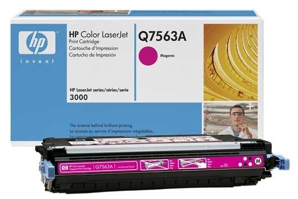 HP Toner magenta für HP CLJ 3000, Q7563A
