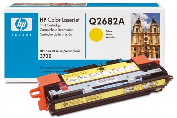 HP Toner Original für Color LaserJet 3700, yellow