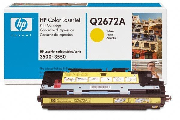 HP Toner Original für Color LaserJet 3500, yellow