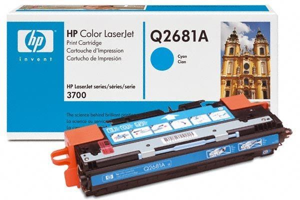 HP Toner Original für Color LaserJet 3700, cyan