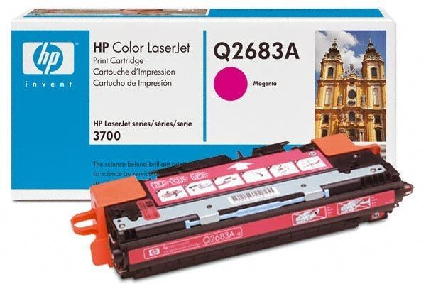 HP Toner Original für Color LaserJet 3700, magenta
