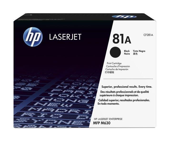 HP Toner schwarz CF281A für M604, M605