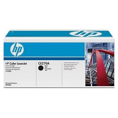 HP Toner schwarz für CP5525, CE270A