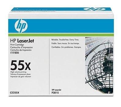 HP Toner schwarz HC für P3015, CE255X