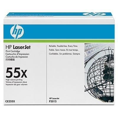 HP Toner schwarz HC für P3015, CE255XC