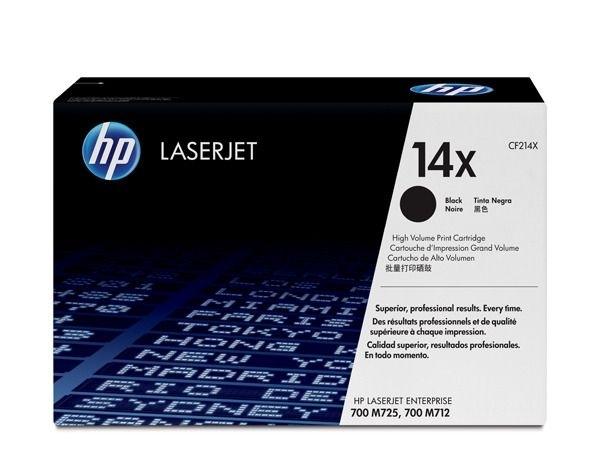 HP Toner schwarz HP 14X, CF214X