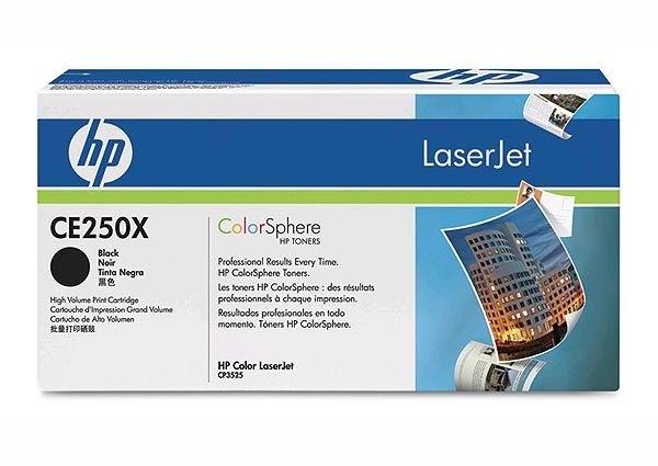 HP Toner schwarz XL, CM3530/CP3525