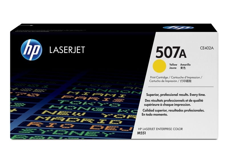 HP Toner yellow , CE402A