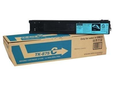 Kyocera Toner cyan für Taskalfa 550c, TK-875C