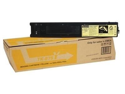 Kyocera Toner gelb für Taskalfa 550c, TK-875Y