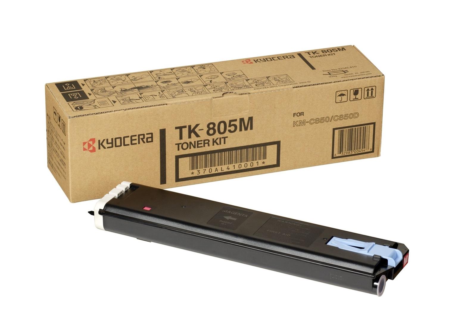 Kyocera Toner Original für KM-C805, magenta