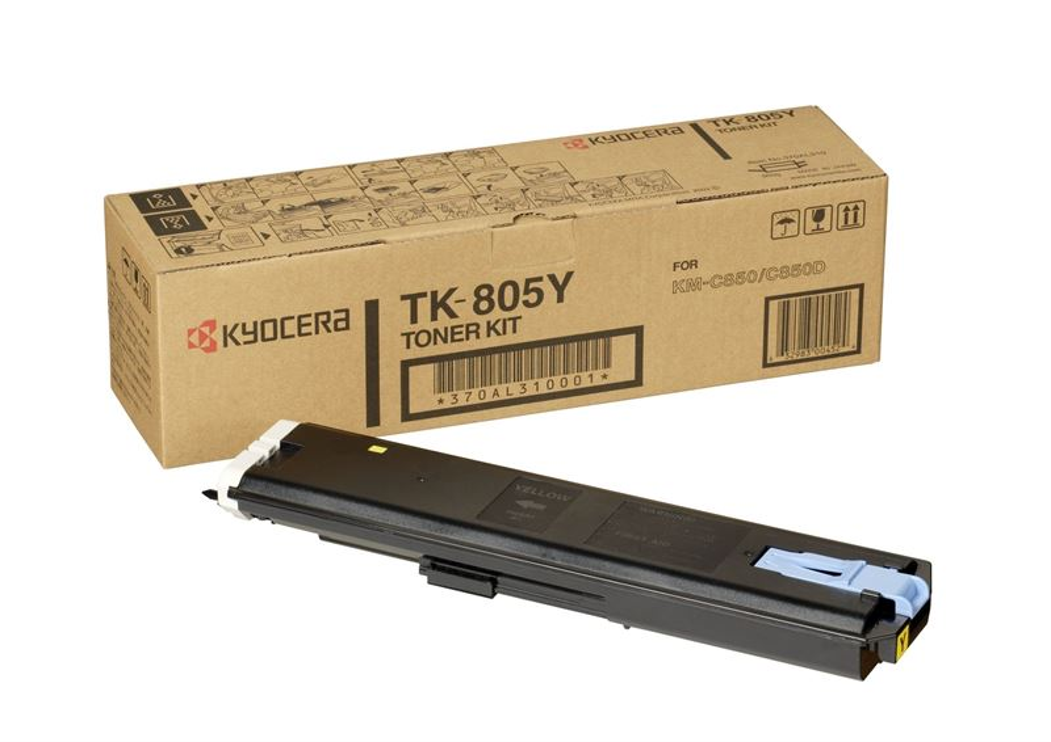 Kyocera Toner Original für KM-C805, yellow