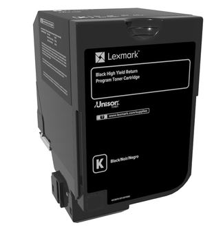 Lexmark HC Rückgabe-Tonerkassette Schwarz