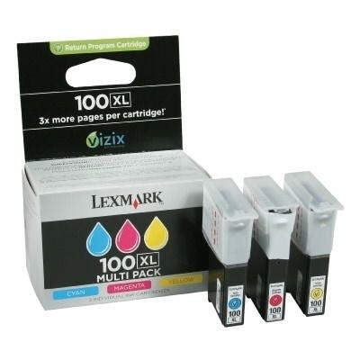 Lexmark Tintenpatrone Multipack Nr.100XL , 14N0850