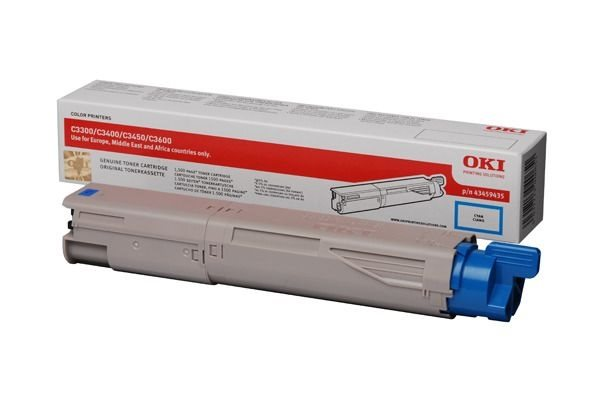 Oki Toner cyan für C3300/C3400, 43459435