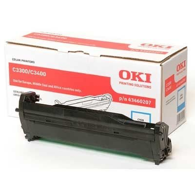 Oki Trommel cyan, für Oki C3300n/C3400n, 43460207