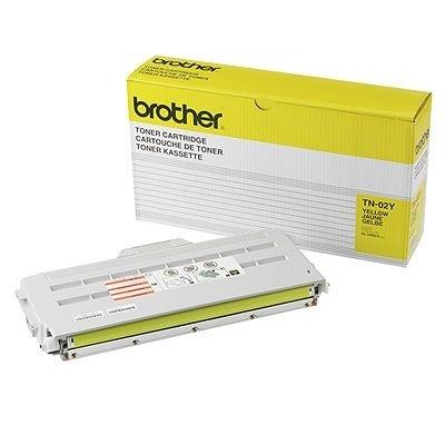 Orig. Toner für Brother HL-3400CN, gelb  -TN-02Y -