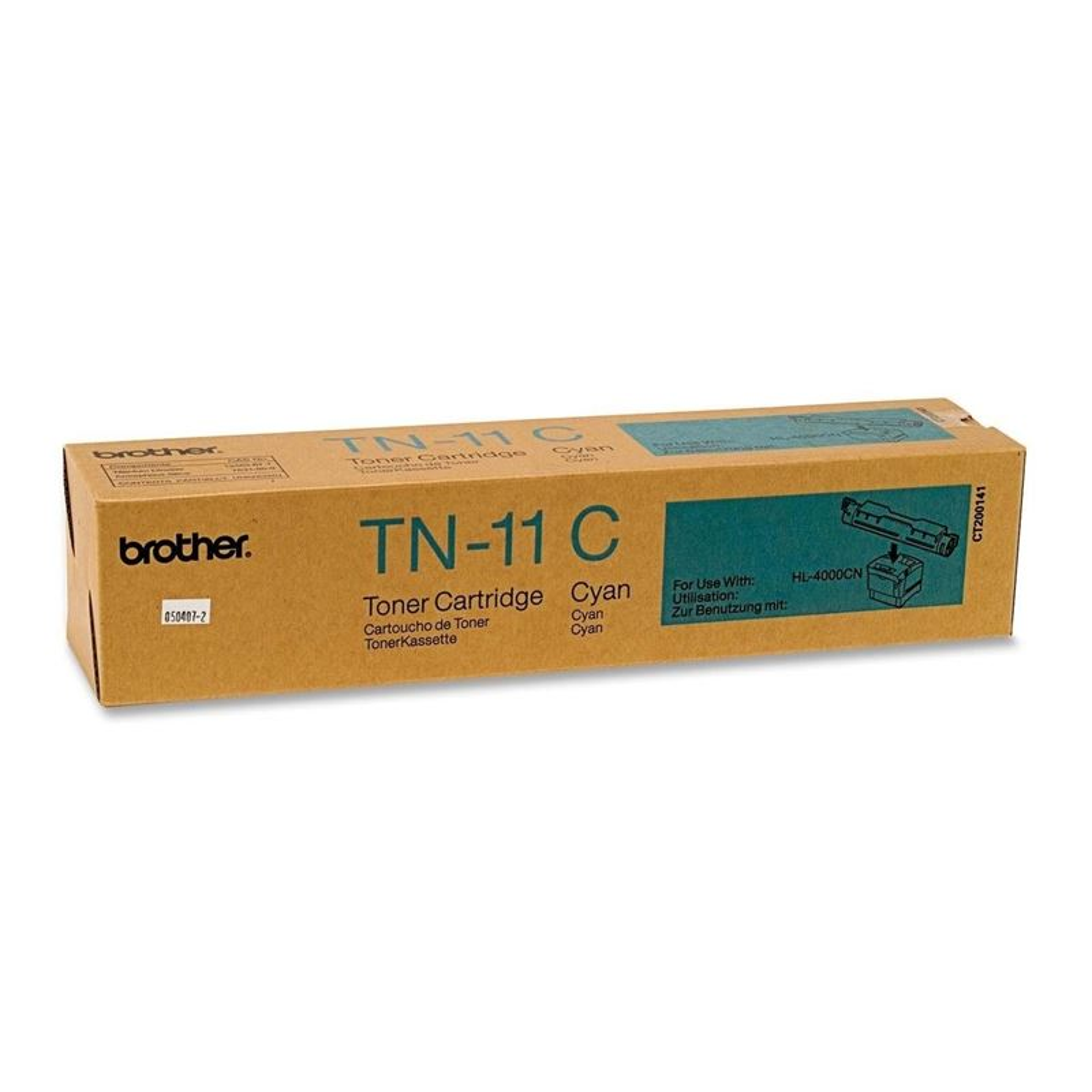 Orig. Toner für Brother HL-4000CN, cyan -TN-11C -