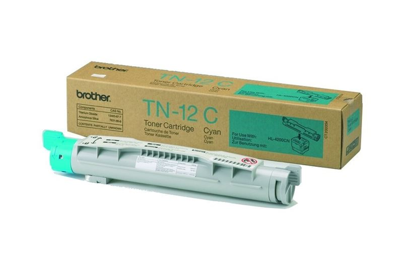 Orig. Toner für Brother HL-4200CN, cyan -TN-12C