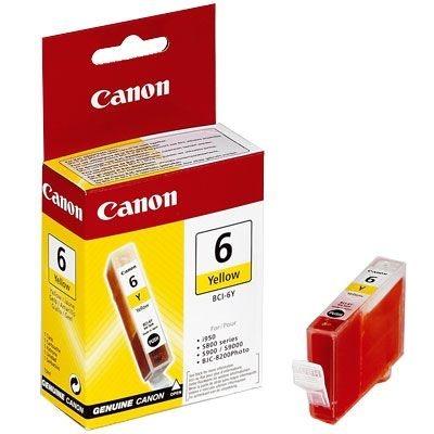 Original BCI-6Y Tintenpatrone für Canon