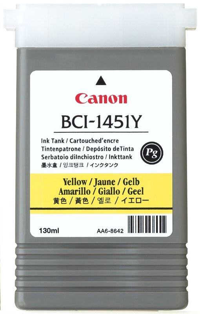 Original Tintenpatrone für Canon W6400 yellow