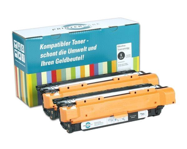 PrinterCare Doppelpack Toner BKHC PC-CLJCP3525-BK