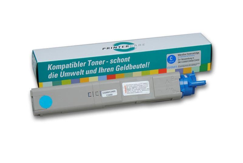 PrinterCare Toner HC cyan - C3300/3400/3450-C