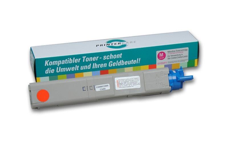 PrinterCare Toner HC magenta - C3300/3400/3450-M