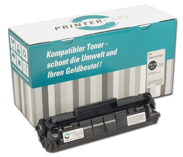PrinterCare Toner schwarz - PC-FX-10