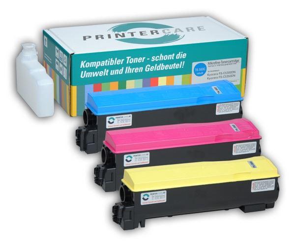 PrinterCare Tonerpaket CMY - PC-TK560-CMY