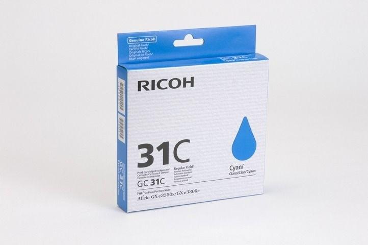 Ricoh Gel-Kartusche cyan für GXe2600, 405689