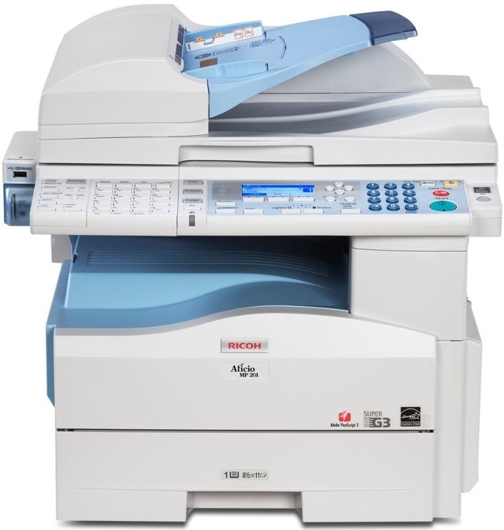 Ricoh MFP MP 201SPF