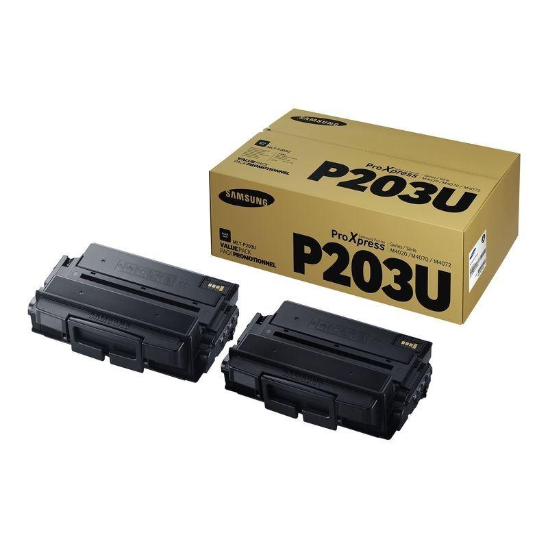Samsung Original  2 Pack Ultra HC Toner schwarz MLT-P203U - SV123A