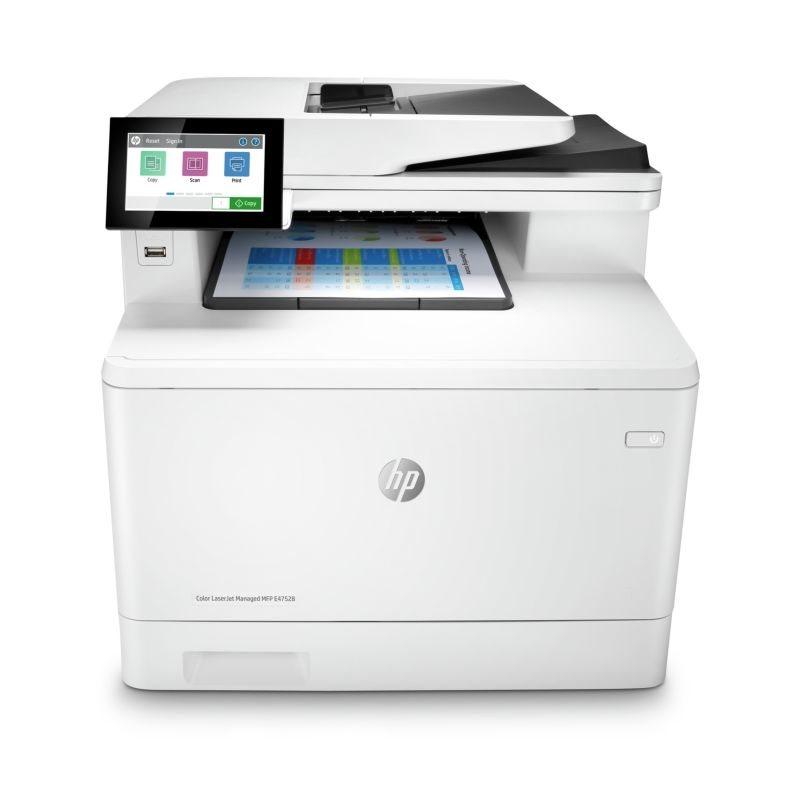 Impresora Laser Hp Color Laserjet Managed Mfp E47528F