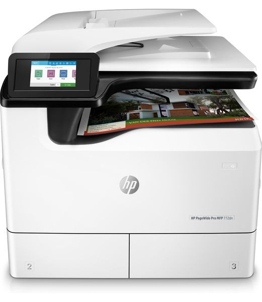 HP PageWide Pro MFP 772dn