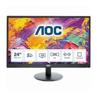 AOC M2470SWH, 61 cm (24 Zoll), 1920 x 1080 Pixel, Full HD, LED, 5 ms