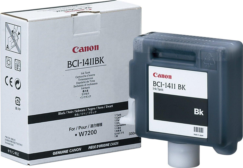 BCI-1411BK - Tintenpatrone schwarz für Canon W7200