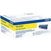 Brother Original - Jumbo Toner gelb -  TN423Y