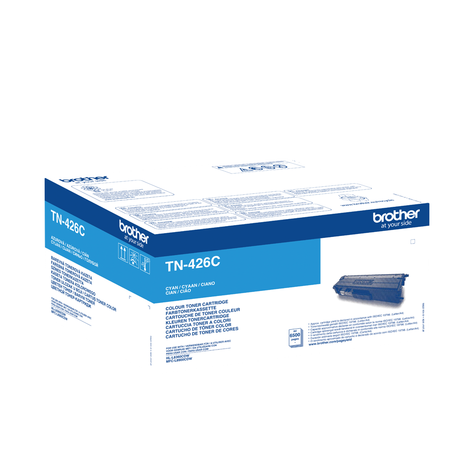 Brother Original - Super Jumbo Toner cyan - TN426C