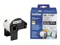 Brother Original - CD-DVD Etiketten -  DK11207