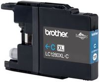 Brother Tinte cyan XL für MFC-J6510DW, LC-1280XLC