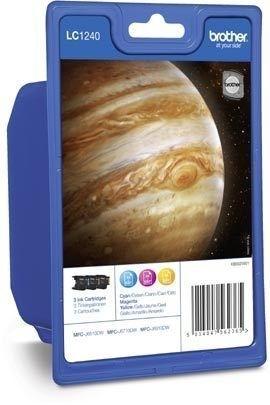 Brother Tinte farbig 3erPack (CMY) für MFC-J6510DW